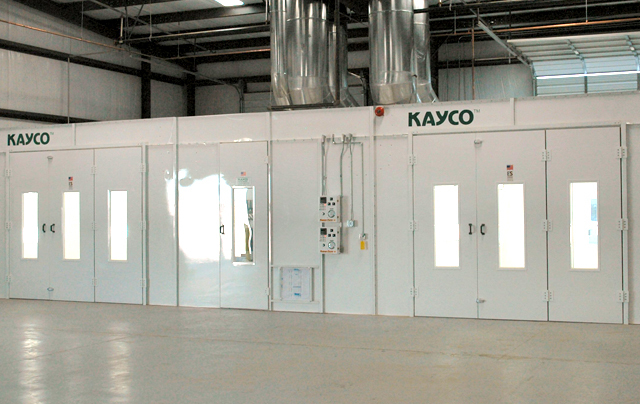 Spray Booth Systems And Accessories Kayco Spray Booths Inc
